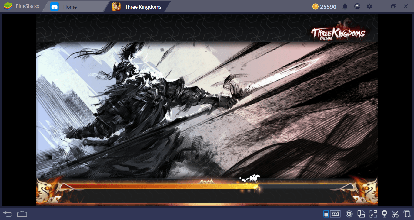 Let's Play Three Kingdoms: Epic War On BlueStacks