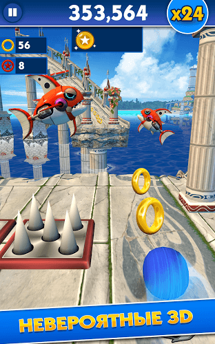 Играй Sonic Dash on pc 15