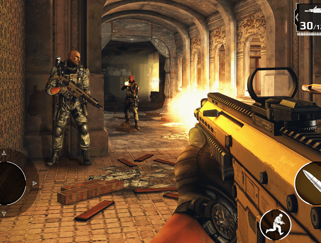 เล่น Modern Combat 5: Blackout on PC 13