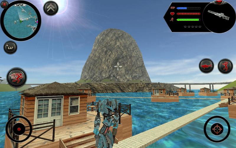 즐겨보세요 Robot Shark on PC 5