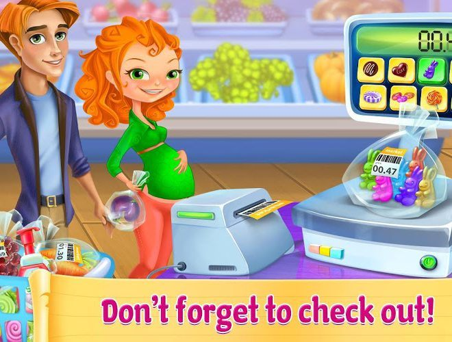 Play Supermarket Girl on pc 4
