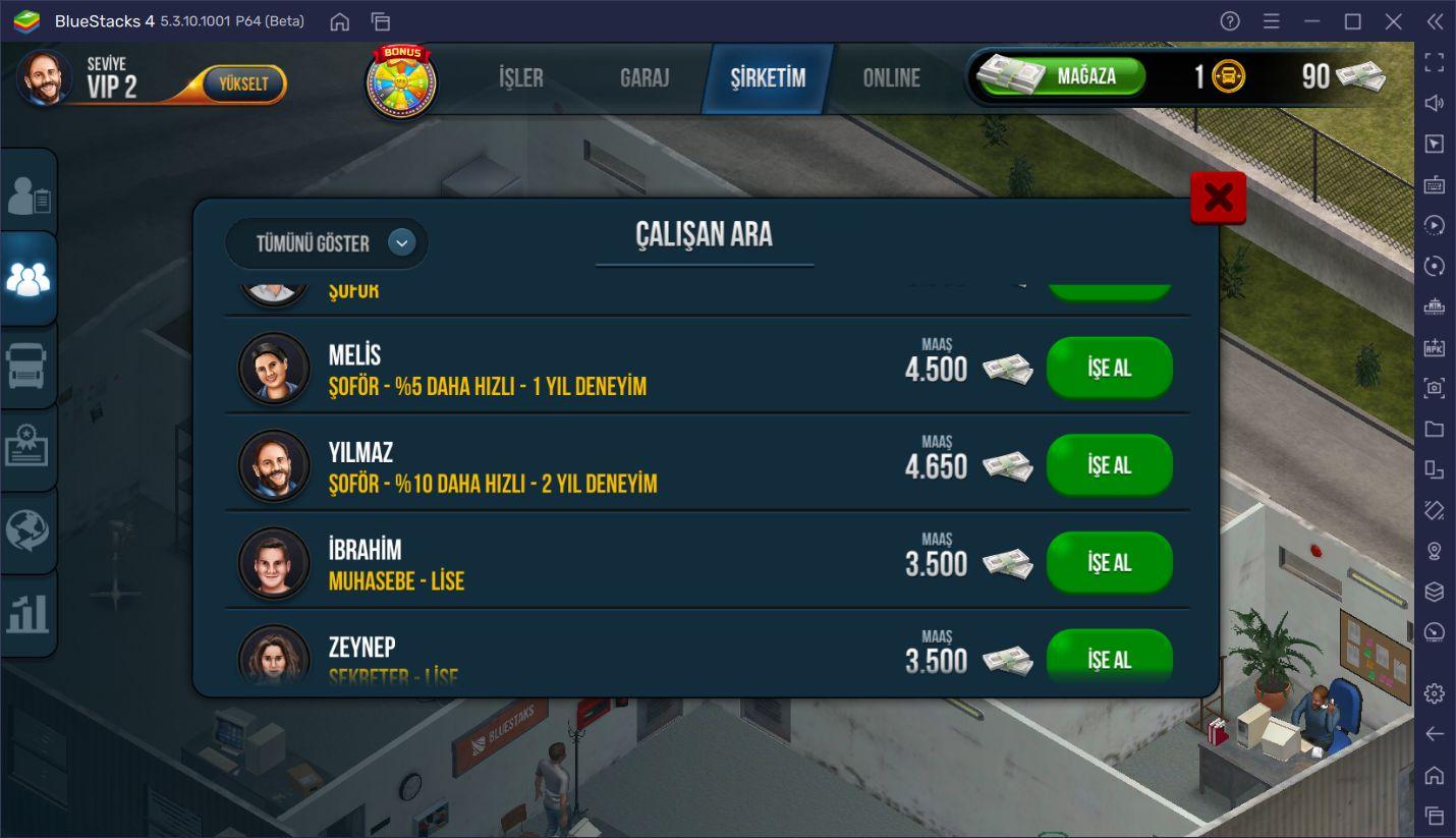 Truck Simulator: Ultimate Oyununda Bir Şirketiniz De Var