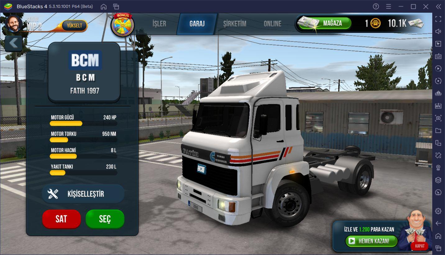 Yeni Şoförler İçin Truck Simulator: Ultimate İpuçları