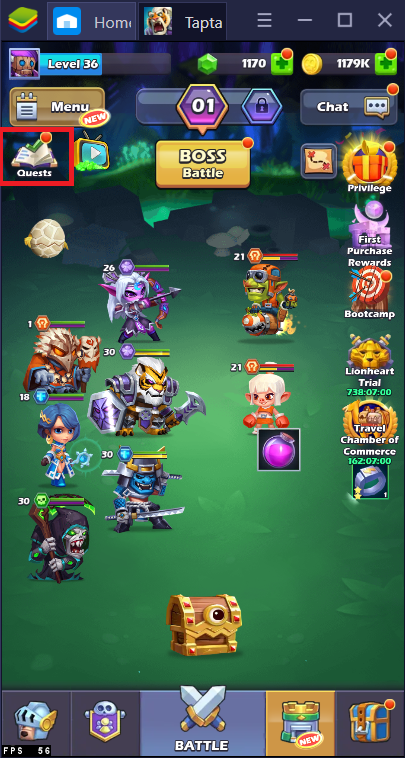 Where and How to Farm More Gold and Purple Souls in Tap Tap Heroes