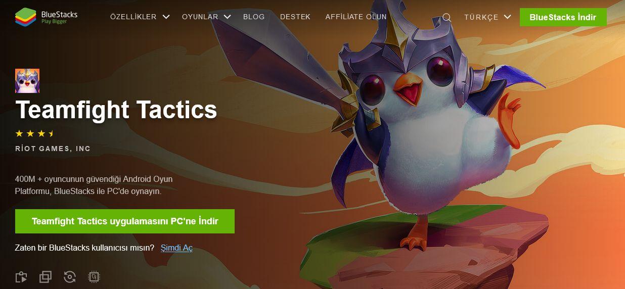 BlueStacks İle Bilgisayarımızda Teamfight Tactics Oynuyoruz