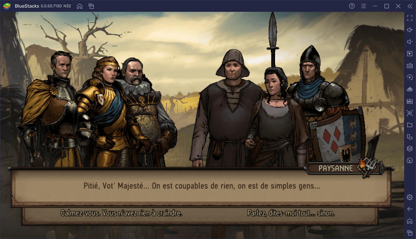 Les trucs et astuces de BlueStacks pour The Witcher Tales : Thronebreaker