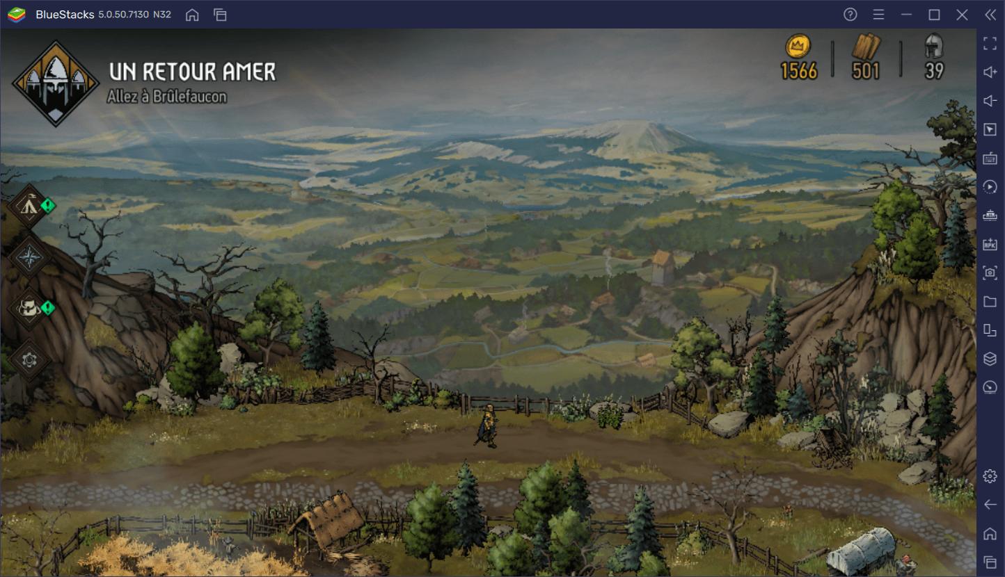 Guide pour débutants sur The Witcher Tales : Thronebreaker – Bien se familiariser avec l'interface et le gameplay