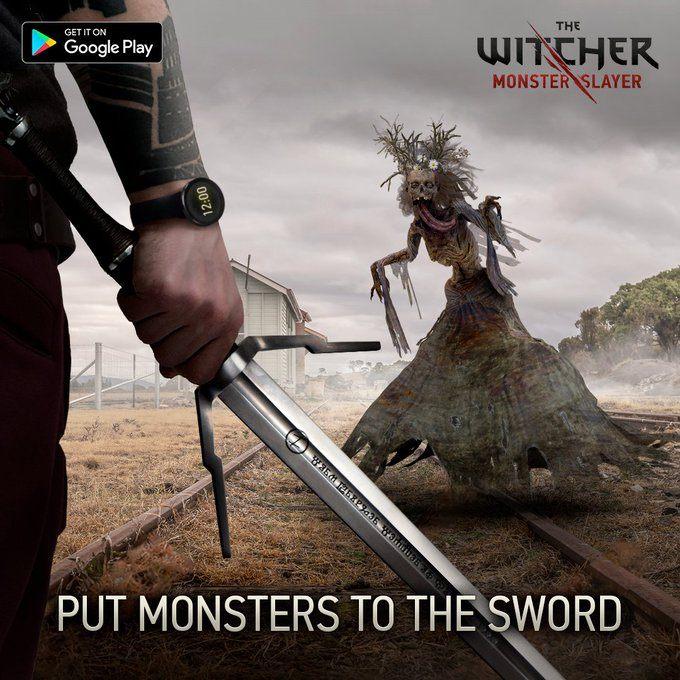The Witcher: Monstertöter ist jetzt für Android in Australien Verfügbar