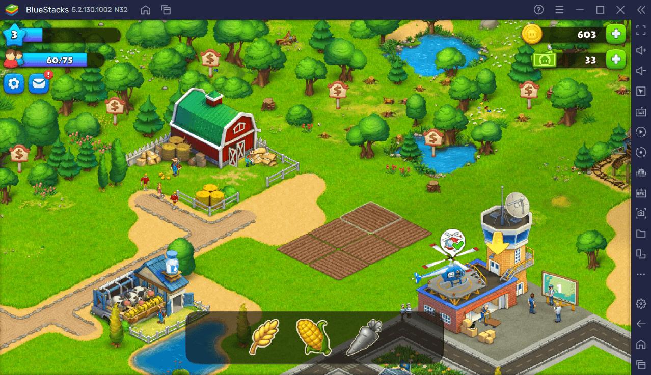 Comment Jouer à Township sur PC