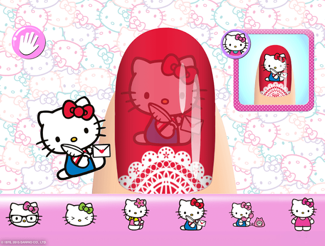 Play Hello Kitty Nail Salon on PC 14