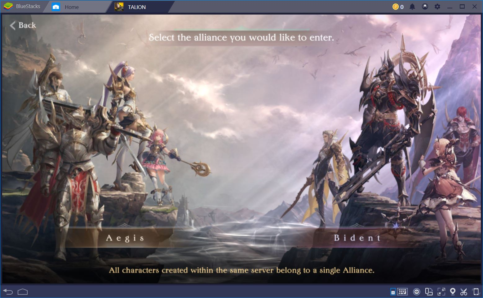 Aegis vs. Bident: A Guide to Alliances and RvR Modes in Talion