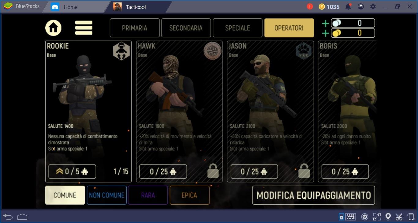 Si spara in compagnia con Tacticool: installalo e giocalo su BlueStacks