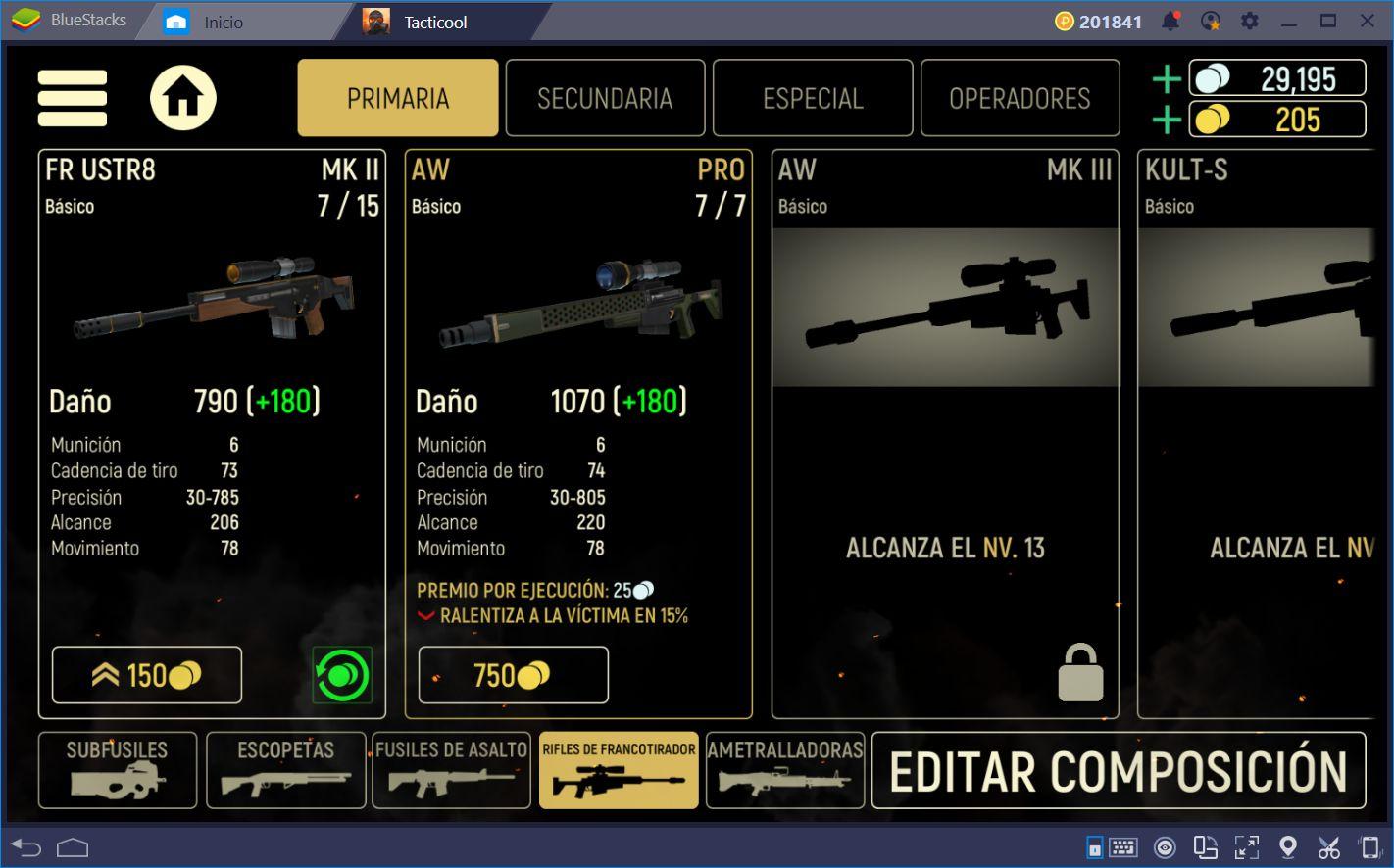 Cómo Usar los Rifles de Francotirador Para Dominar en Tacticool