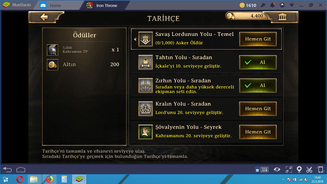 Iron Throne Altın ve VIP Rehberi