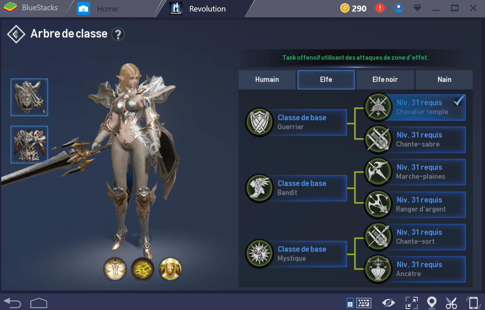 Lineage 2 Temple Knight Fr