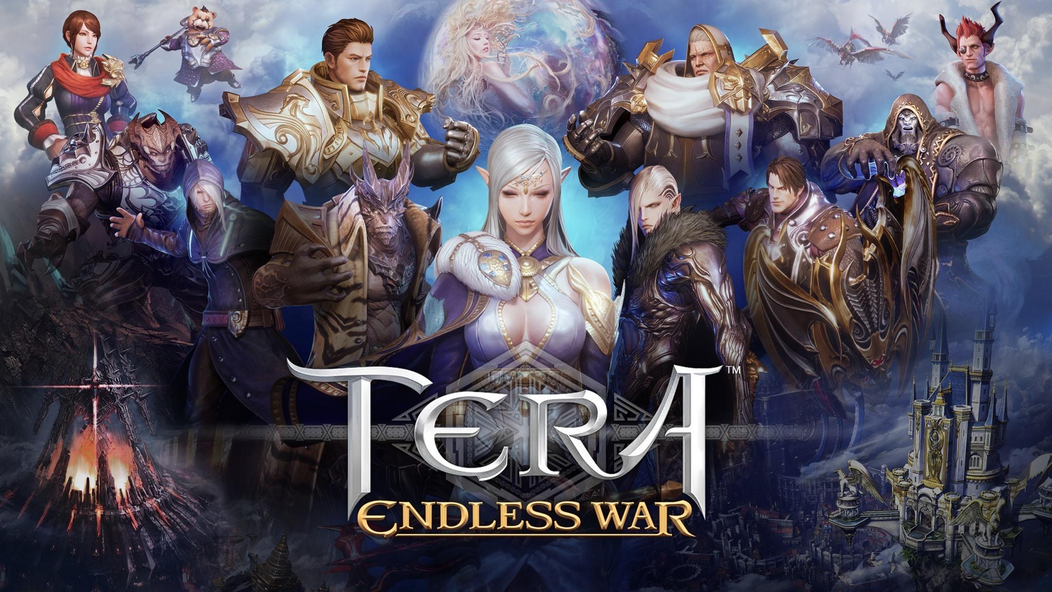 MMOSLG手遊《Tera: Endless War》國際版正式推出 智慧戰隊等你指揮