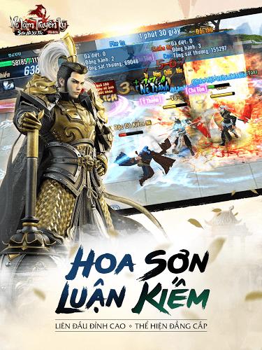 Chơi Võ Lâm Truyền Kỳ Mobile on PC 9