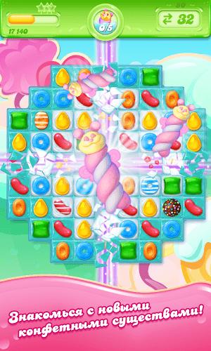 Играй Candy Crush Jelly Saga На ПК 4