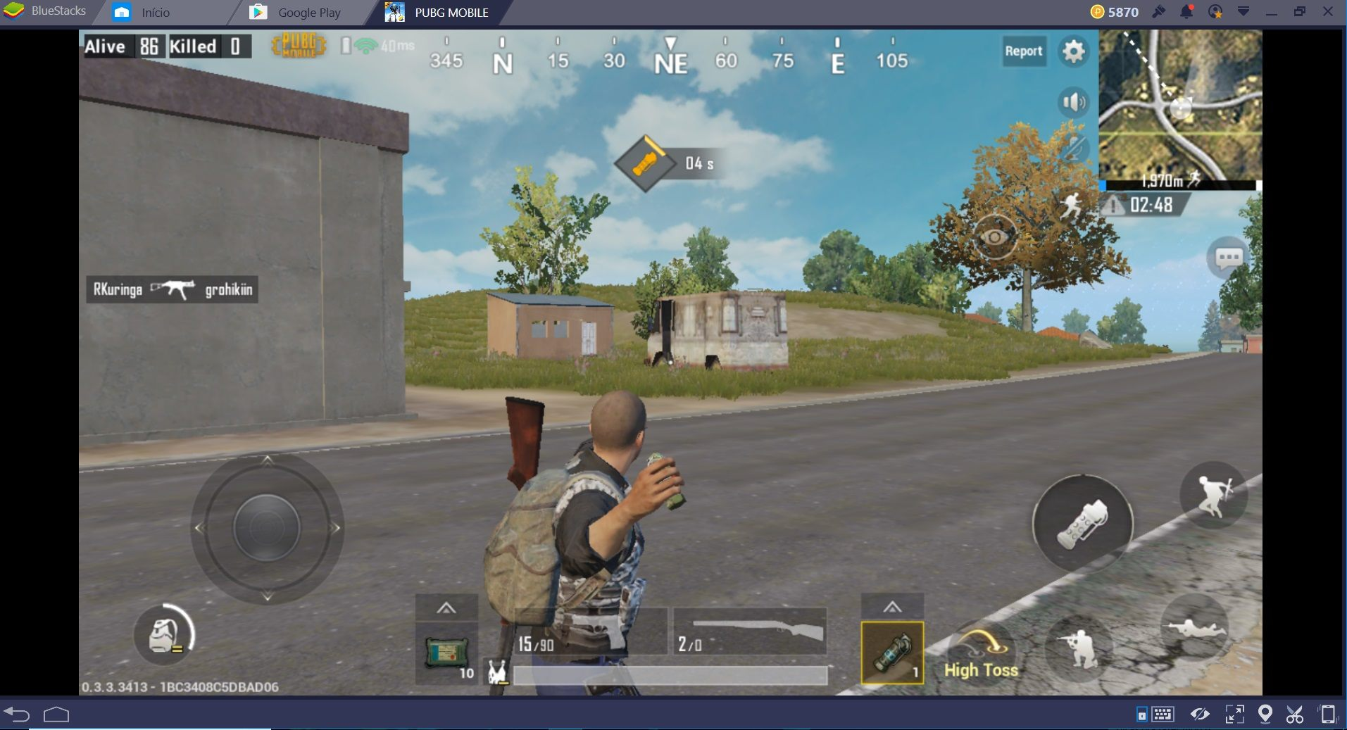 Novo BlueStacks 4: o chefão do Battle Royale