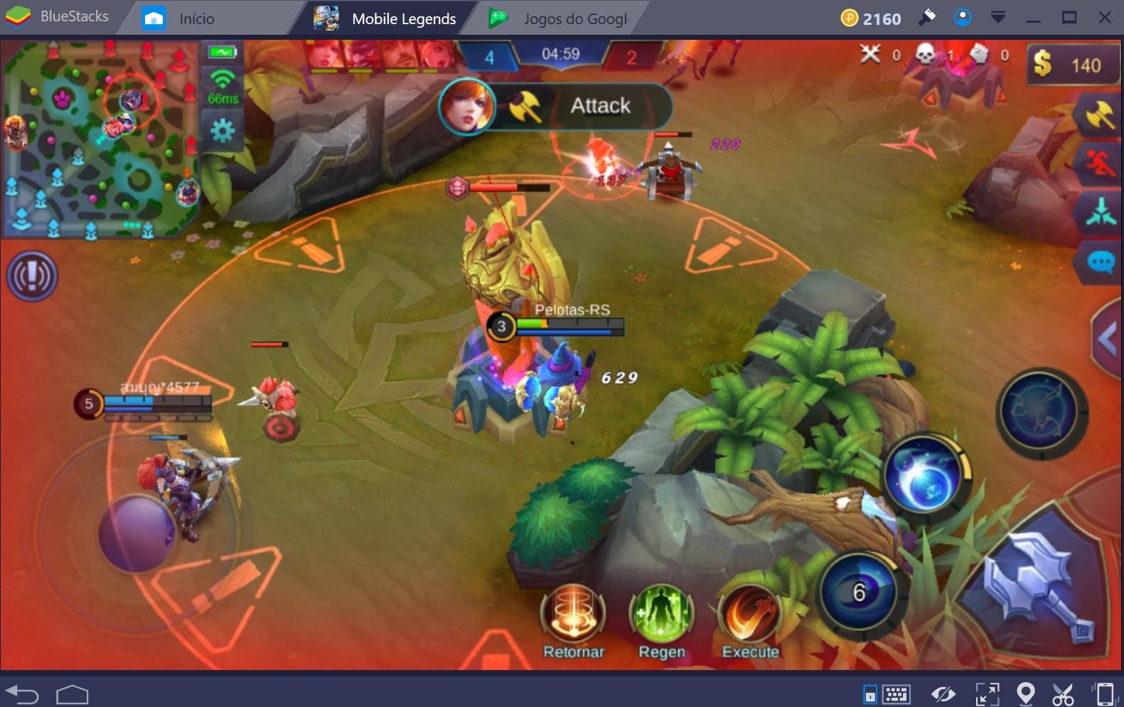 BlueStacks 4: a melhor jogar de jogar MOBA