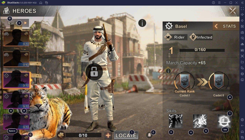 Der ultimative State of Survival Hero Leitfaden von BlueStacks Leitfaden für spielbare Charaktere