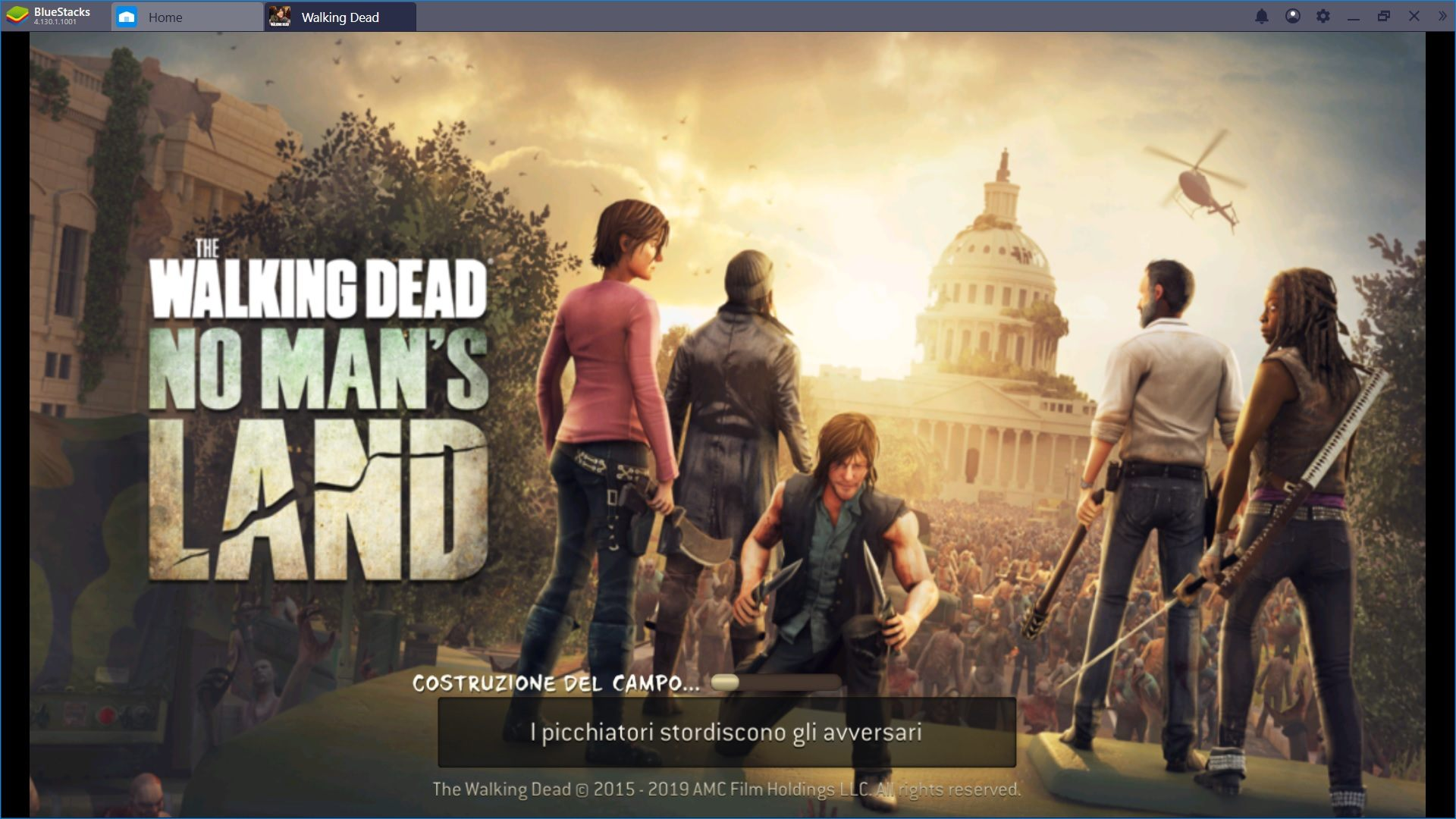 Installa The Walking Dead: No Man's Land e sfrutta i vantaggi di Bluestacks 4