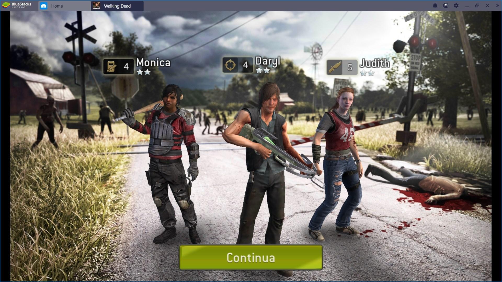 Come Combattere in The Walking Dead: No Man's Land – Sopravvissuti e Attacchi