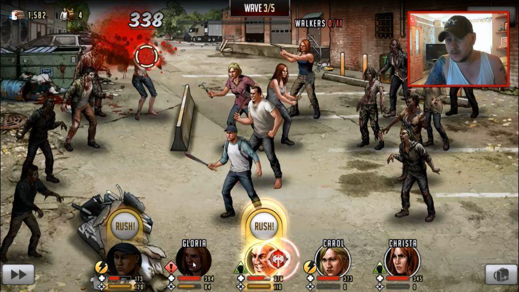 The Walking Dead: Road to Survivalmod apk et cheats android, pc et ios