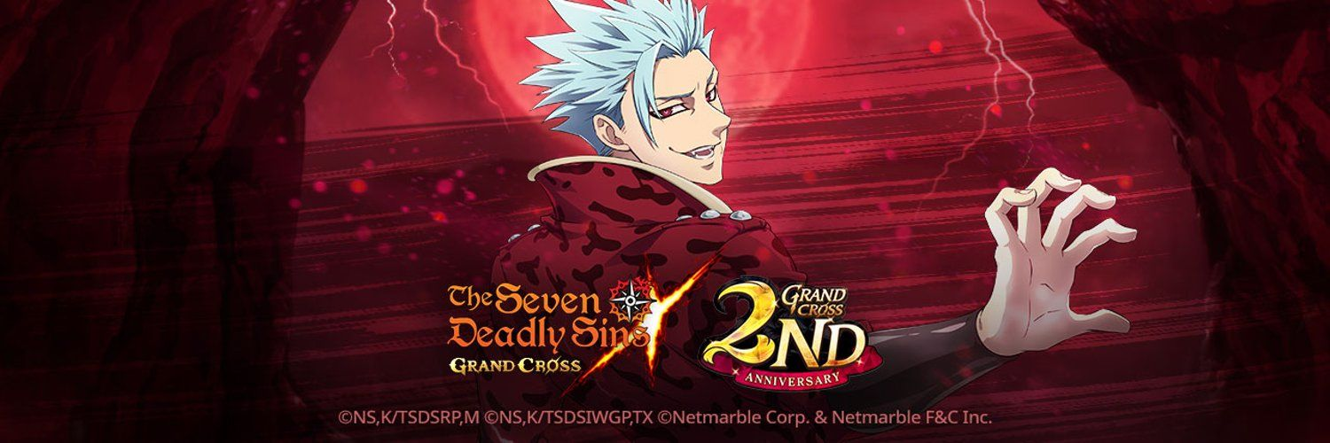 the seven deadly sins grand cross  2nd anniversary