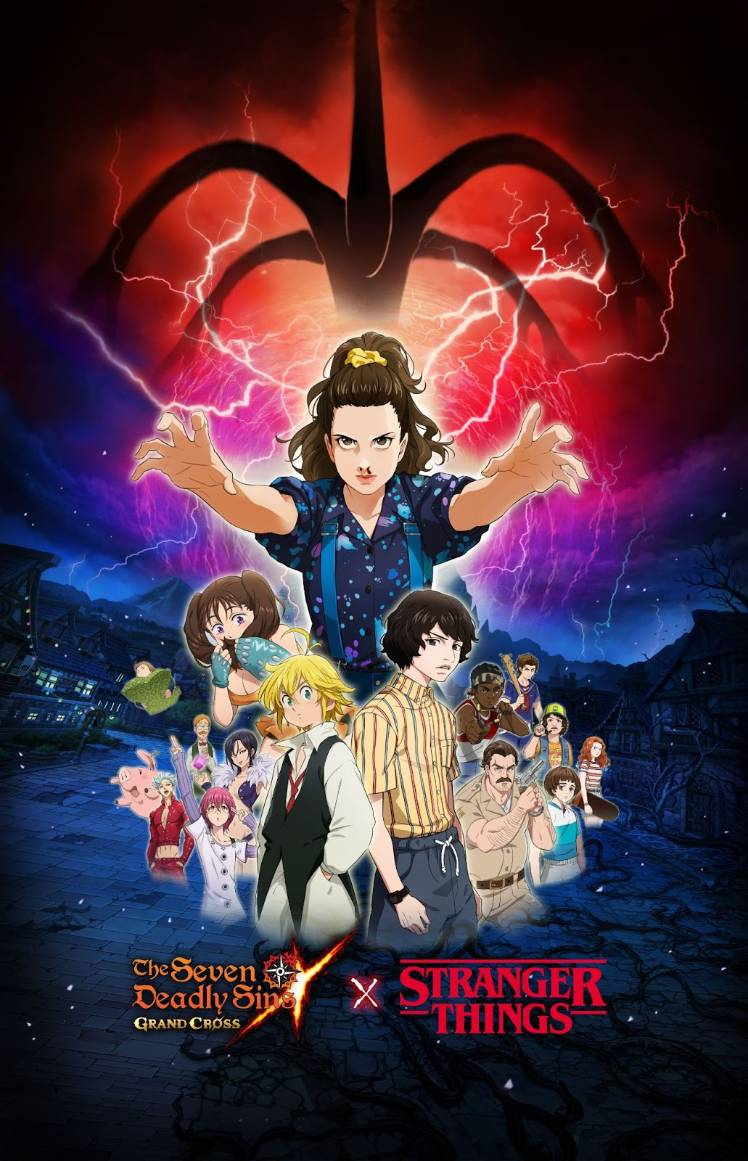 The Seven Deadly Sins: Grand Cross – All About the Stranger Things Collaboration