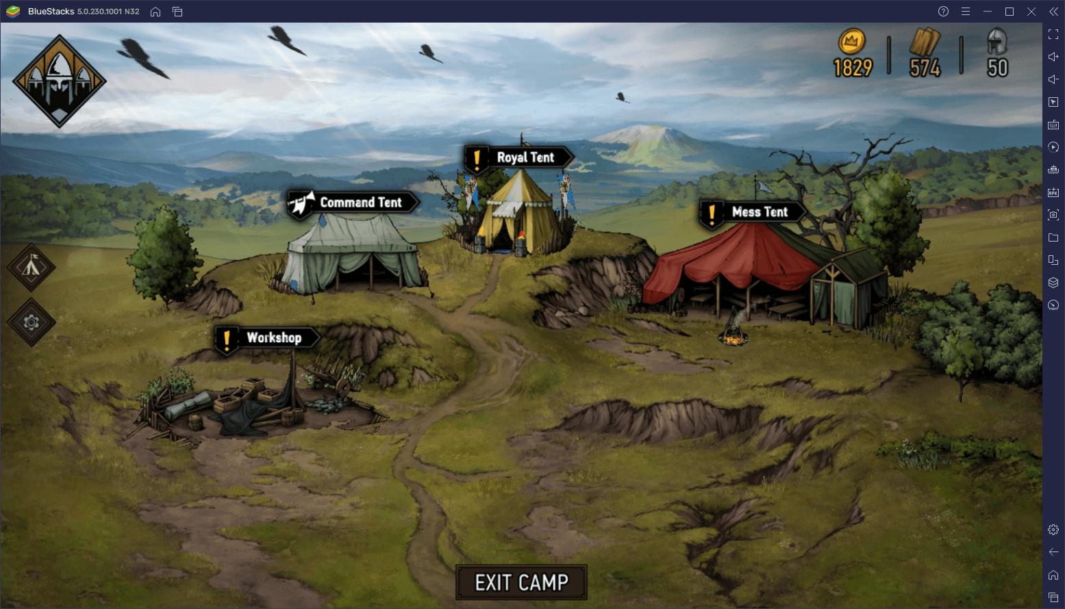 دليل المبتدئين للعبة The Witcher Tales: Thronebreaker – التعرف على طريقة اللعب و تقنيّة تفاعل المستخدم