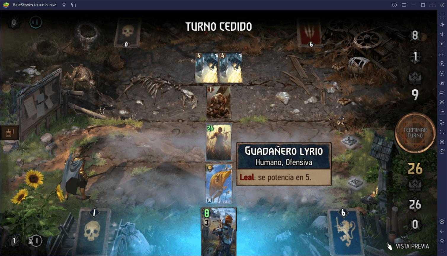 The Witcher Tales: Thronebreaker – Cómo Armar Mazos y Ganar Batallas