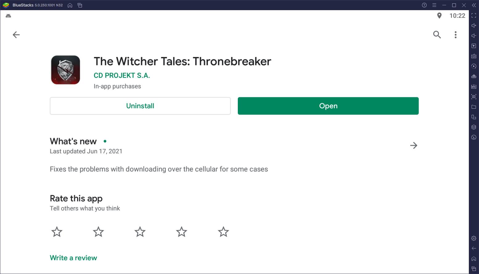كيف تلعب لعبة The Witcher Tales: Thronebreaker على جهاز الكمبيوتر مجانًا