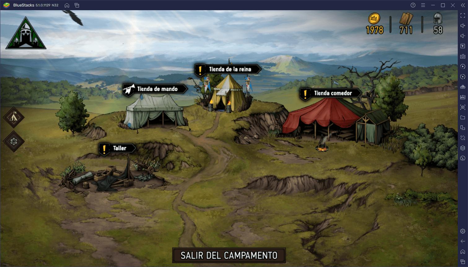 Trucos y Consejos de BlueStacks Para The Witcher Tales: Thronebreaker