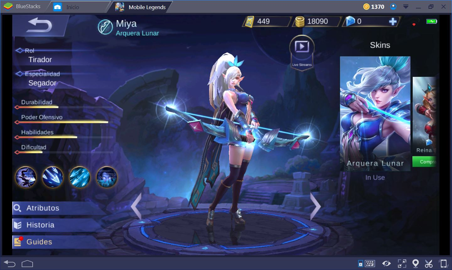 Mobile Legend Tirador Es