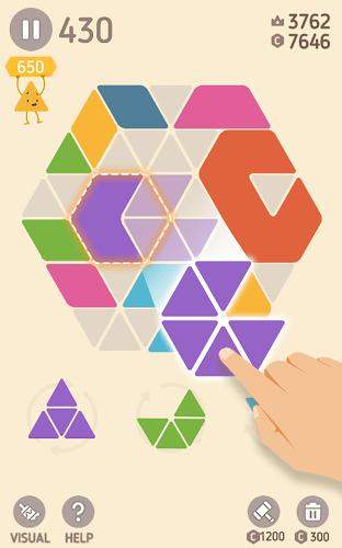 Play Make Hexa Puzzle on pc 10