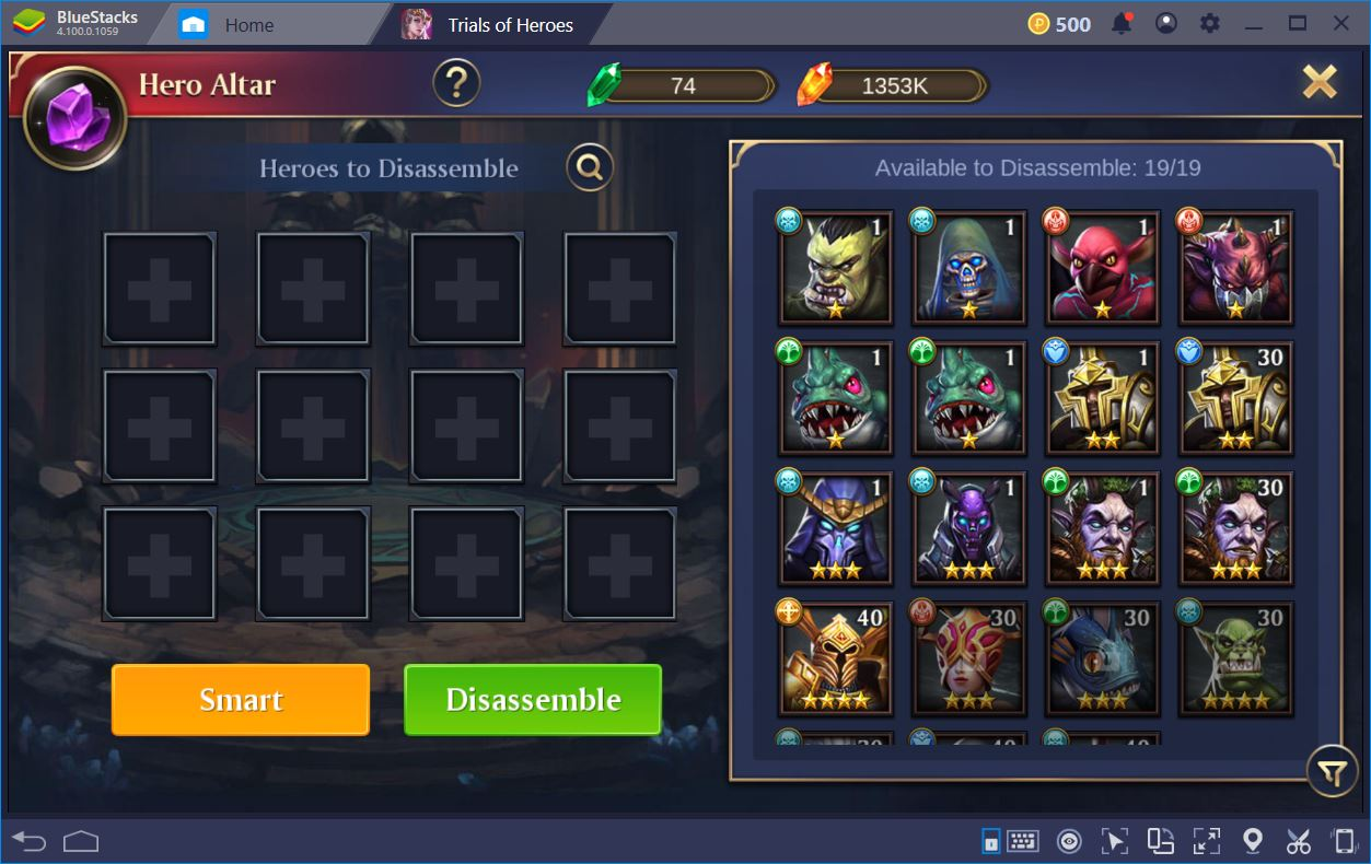 Trials of Heroes: Idle RPG - Game Review | BlueStacks