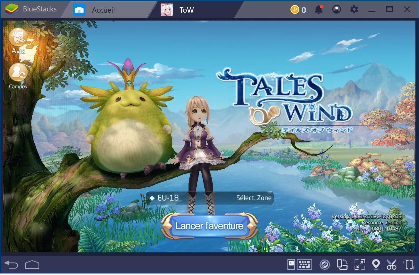 Tales of Wind – Des combats fluides alliés à un style visuel unique