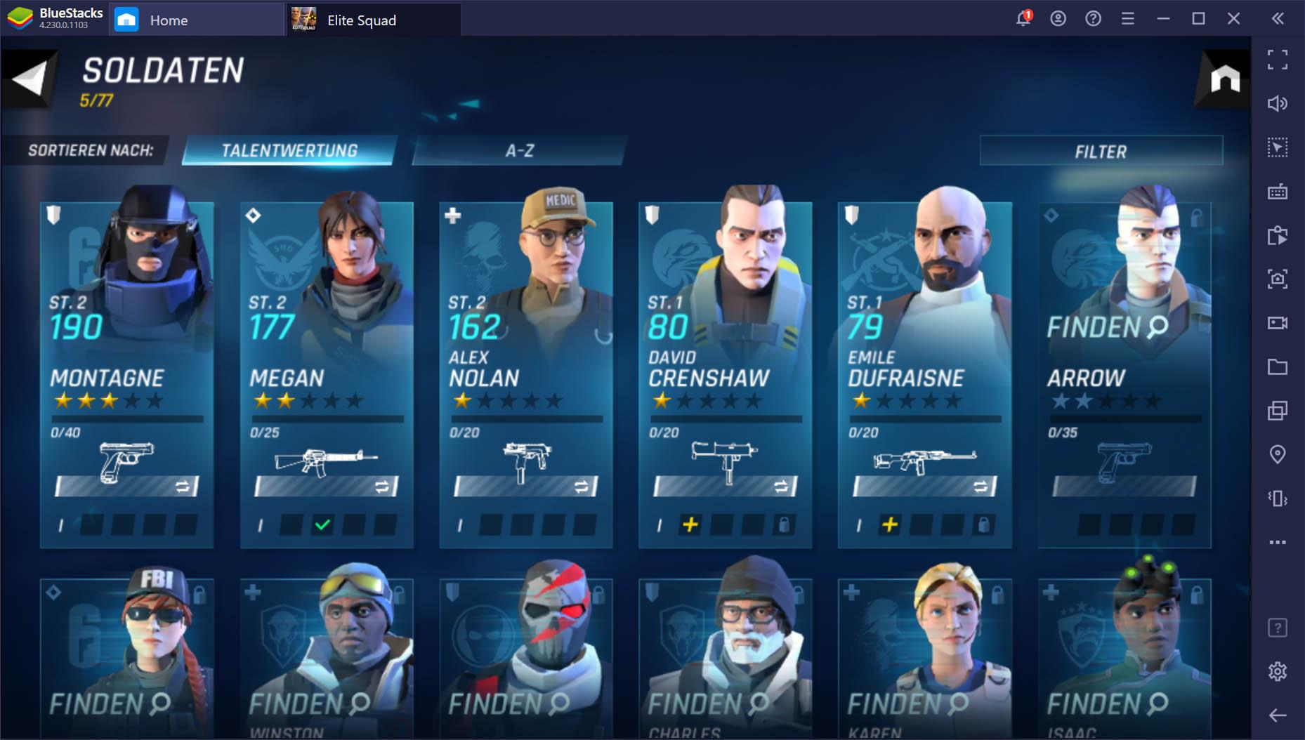 Tom Clancy's Elite Squad – Reroll-Leitfaden: So entsperrst du von Anfang an die besten Soldaten