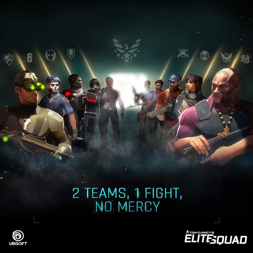 Tom Clancy's Elite Squad: Pre-registration Details and Game Overview