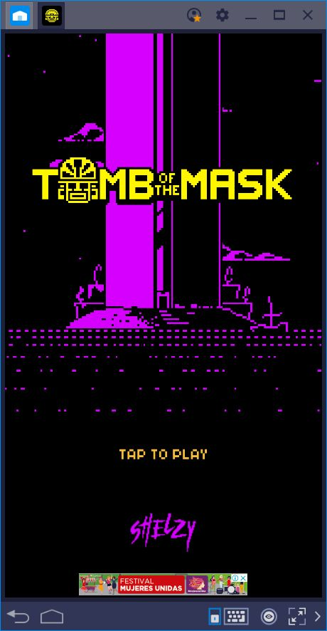 BlueStacks Usage Guide for Tomb of the Mask
