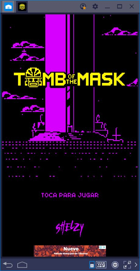 Guía de Uso de BlueStacks para Tomb of the Mask