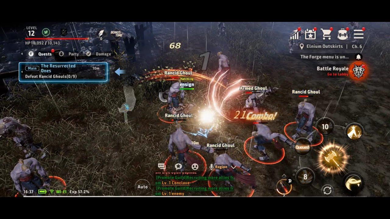 Top 10 Android-MMORPGs für den PC mit BlueStacks