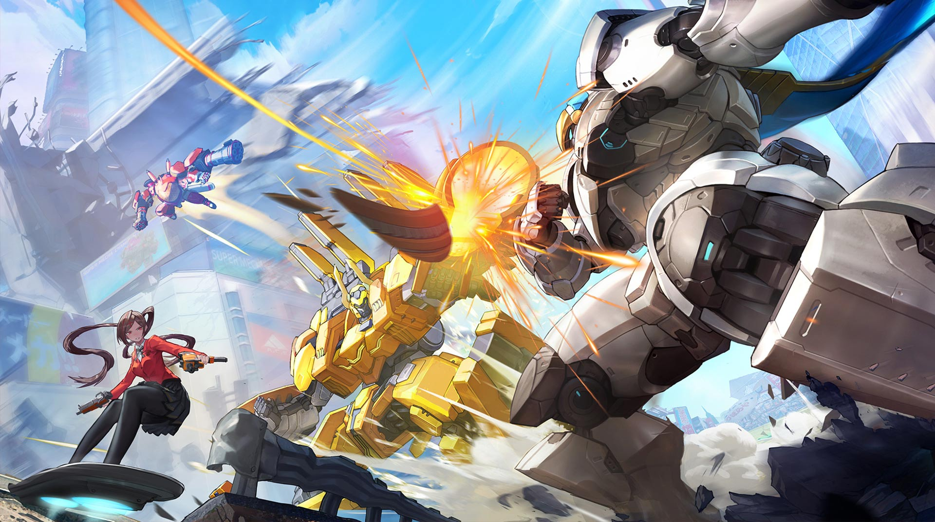Download Super Mecha Champions on PC with BlueStacks