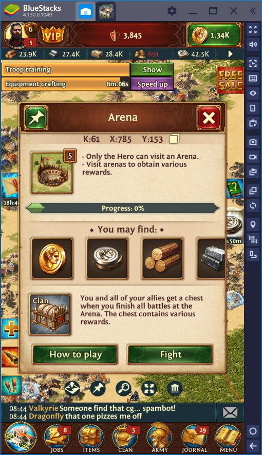BlueStacks Guide for Total Battle: Tactical Strategy