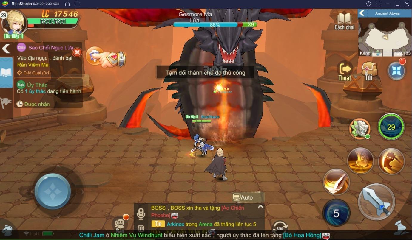 Trải nghiệm game chuyển sinh Cloud Song trên PC với BlueStacks