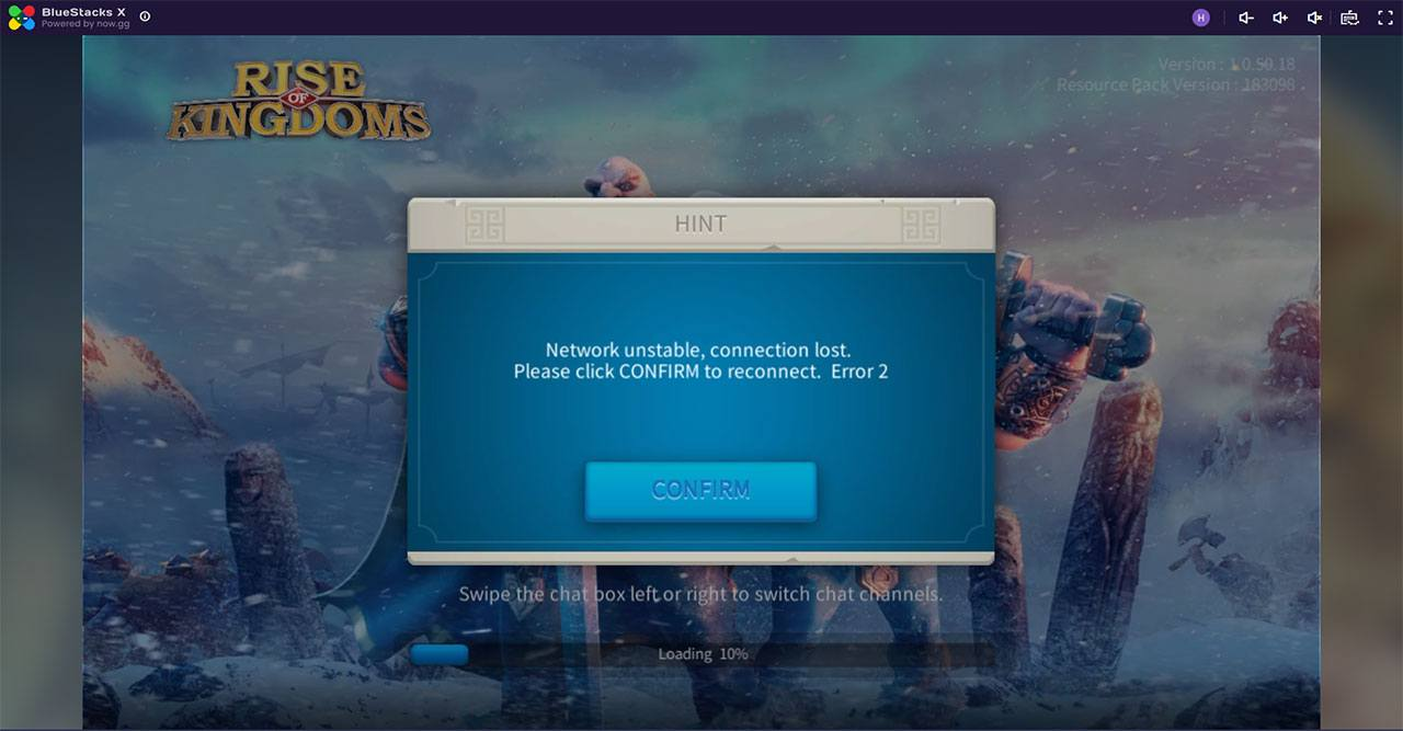 Trải nghiệm chơi Rise of Kingdoms với BlueStacks X
