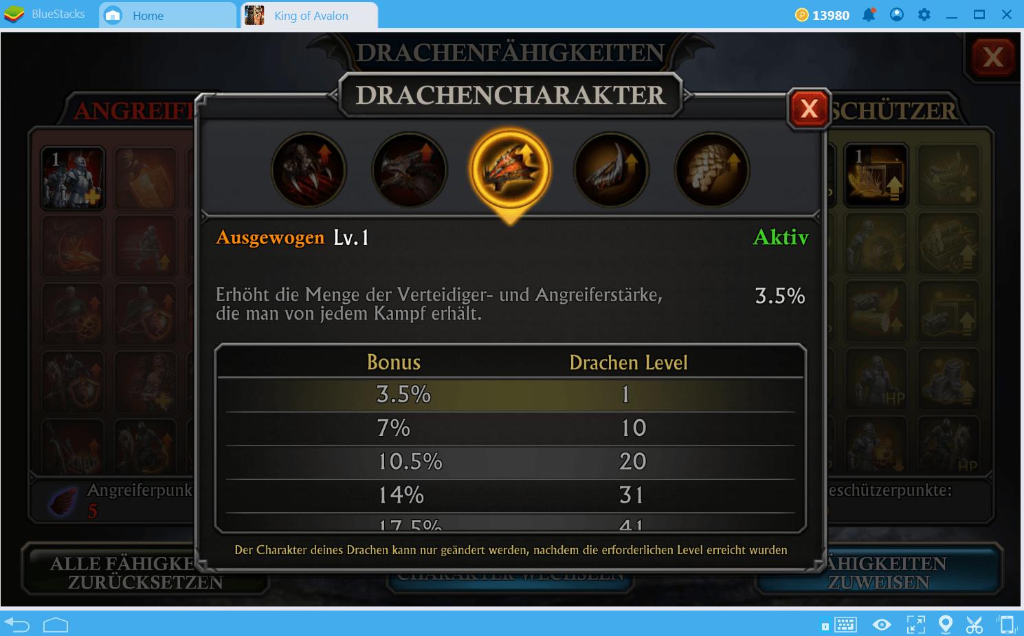 King of Avalon: Wie trainiere ich meinen Drachen?
