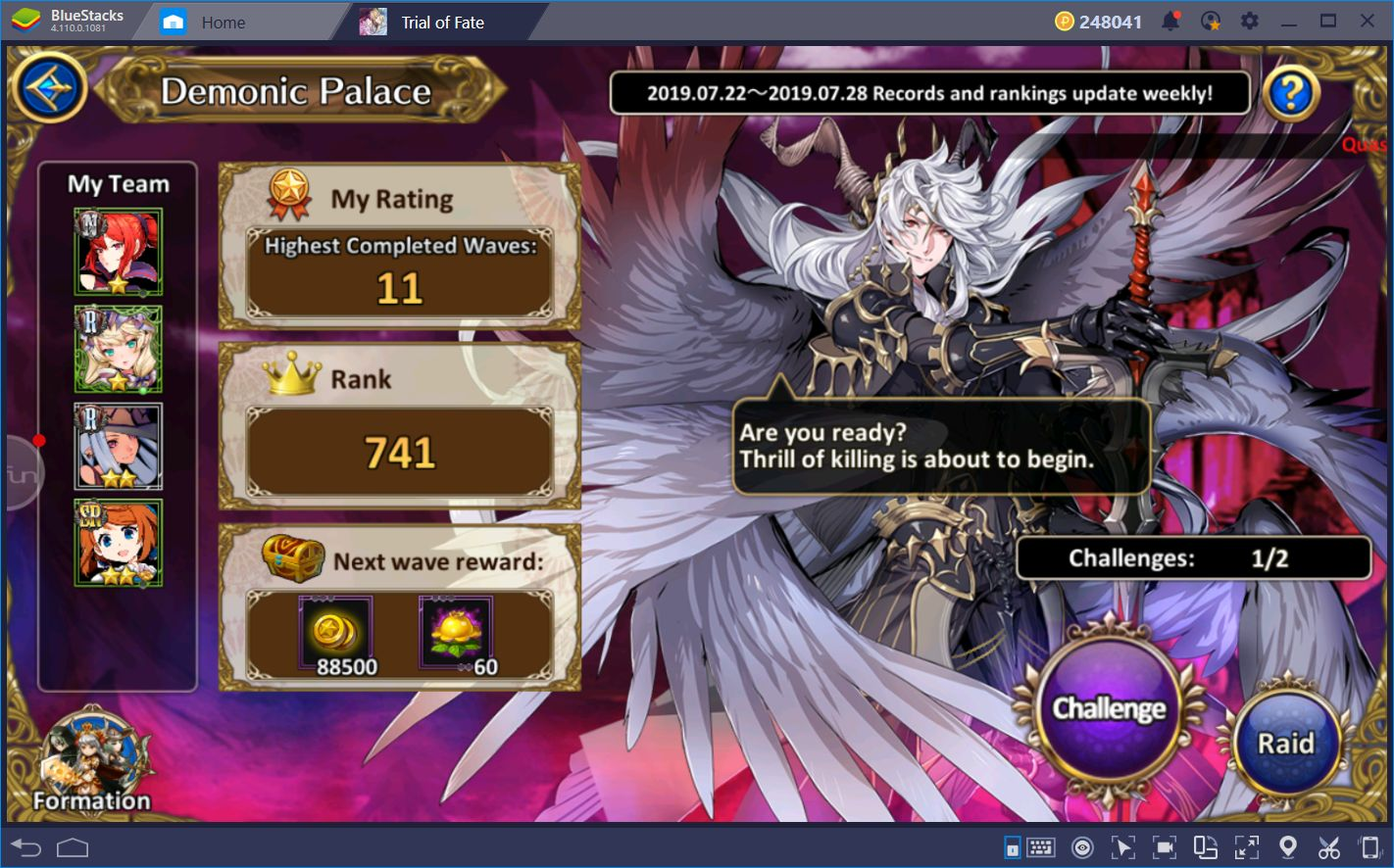 A Guide to Leveling and Upgrading Heroes in Trial of Fate