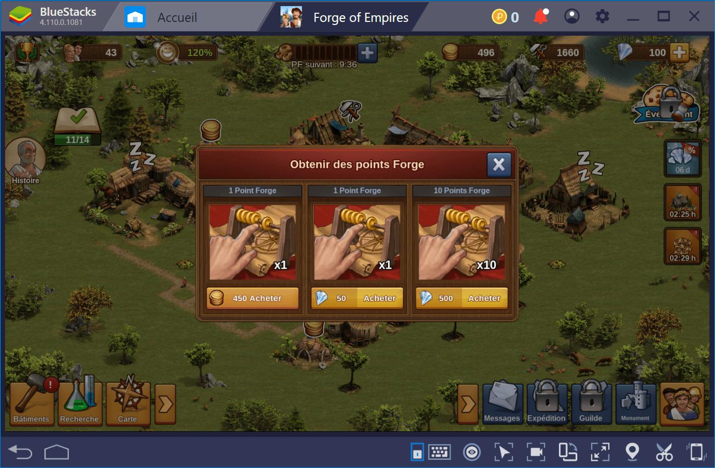 Trucs et astuces ultimes pour Forge of Empires